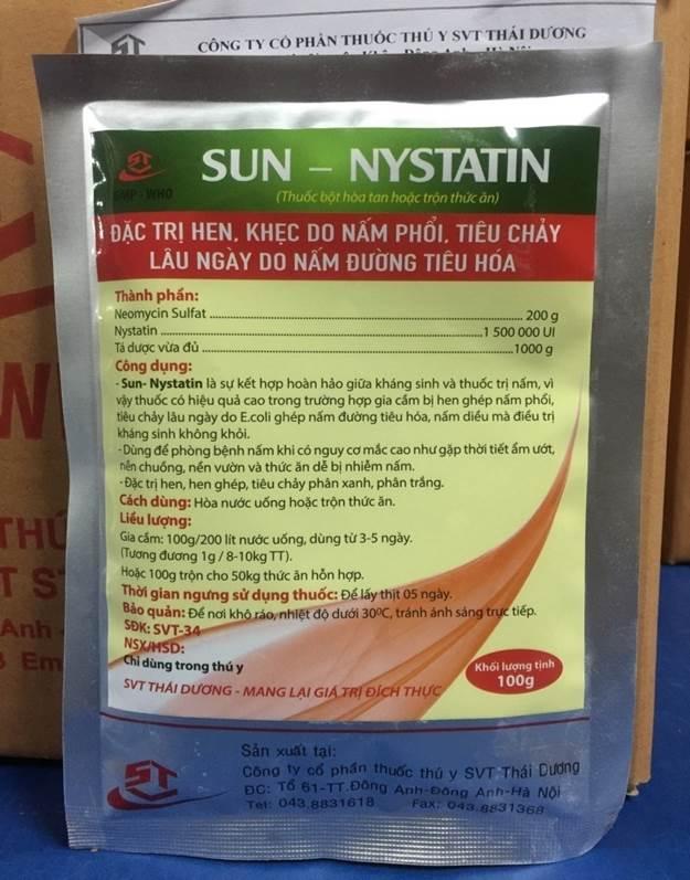 Sun - Nystatin